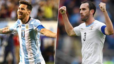 Argentina vs Uruguay, International Friendlies 2019: Lionel Messi, Diego Godin & Other Key Players to Watch Out for in ARG vs URU Football Match