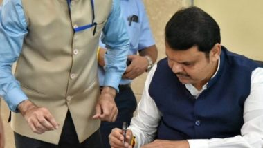 Maharashtra CM Devendra Fadnavis Sanctions Rs 5,380 Crore Relief for Rain-Affected Farmers on First Day of Second Stint as Chief Minister
