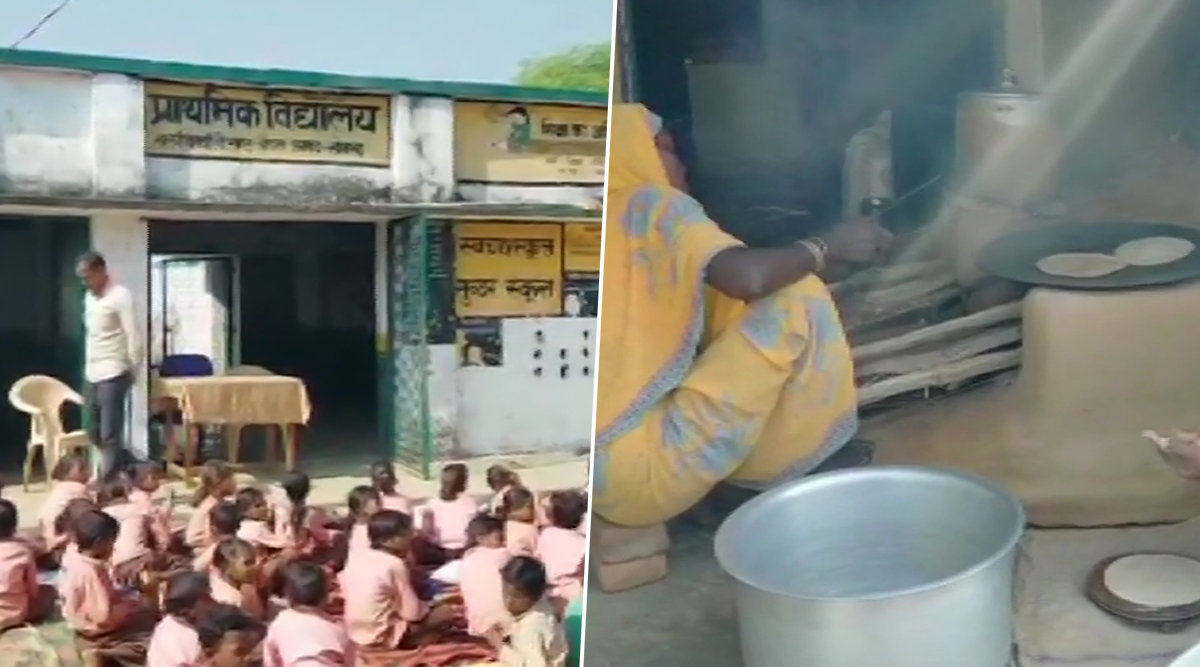 UP Mid-Day Meal: Milk Diluted With Water Served to Students in Sonbhadra, Matter Under Investigation