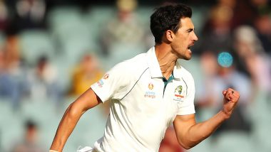 Mitchell Starc's Five-Fer in Adelaide Test Cripples Pakistan, Australia in Commanding Position in AUS vs PAK Day-Night Test 2019