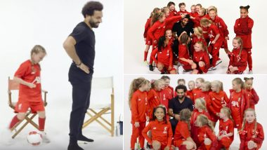 Mo Salah Interview With Kop Kids: From His Worst Experience As Footballer to His Love for Cats, 'Egyptian King' Reveals It All (Watch Full Video)