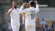Virat Kohli Urges Indore Crowd to Cheer Mohammed Shami Instead of Him in 1st India vs Bangladesh Test 2019 (Watch Video)