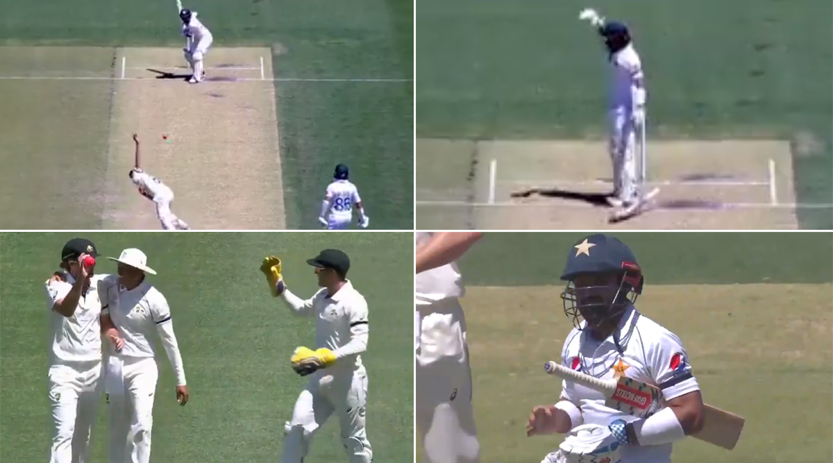 Jhye Richardson Injures Mohammad Rizwan's Hand With a Deadly Pace Delivery During Australia A vs Pakistan 3-Day Practice Match (Watch Video)