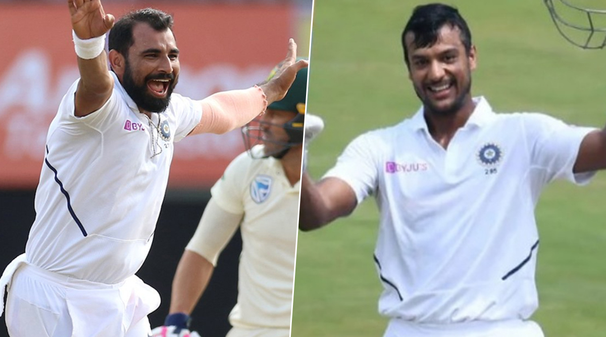 Latest ICC Test Player Rankings: Mohammed Shami, Mayank Agarwal Gain Career-Best Position After Magnificent Performances in India vs Bangladesh 1st Test 2019