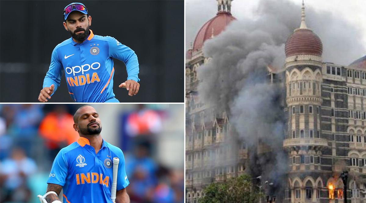 26/11 Mumbai Attacks: Virat Kohli, Shikhar Dhawan and Other Indian Cricketers Pay Tributes to Martyrs and Victims on 11th Anniversary of 2008 Terror Attacks