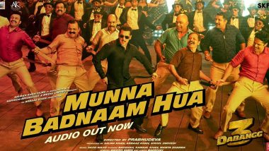 Dabangg 3 Song Munna Badnaam Hua: Move Over Munni as Salman Khan and Badshah Are Here With a Peppier Track! (Watch Video)