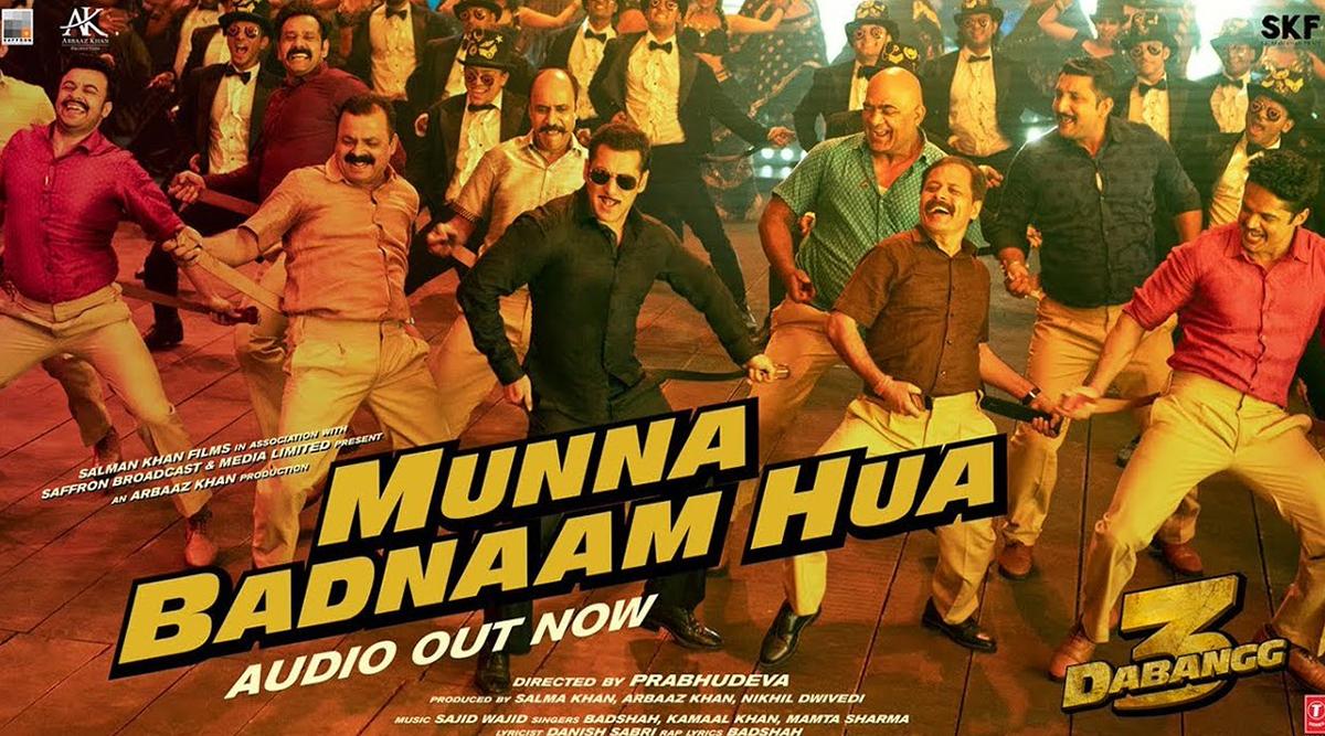 Dabangg 3 Song Munna Badnaam Hua: Move Over Munni as Salman Khan and Badshah Are Here With a Peppier Track! (Watch Video)