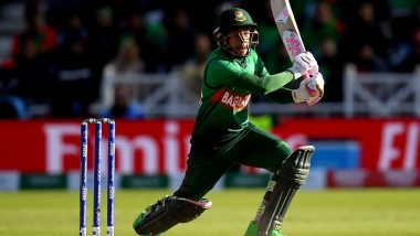 IPL 2020 Auction: Bangladesh's Mushfiqur Rahim Opts Out of Indian Premier League 13