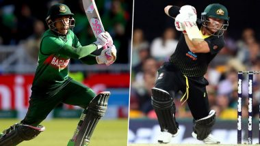 Cricket Week Recap: From Mushfiqur Rahim's Match-Winning Knock to David Warner's Splendid Innings, A Look at Finest Individual Performances
