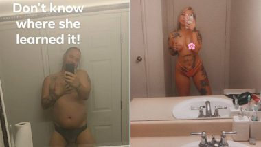 Dad's Remake of Daughter's NSFW Mirror Selfie Is Epic, Viral Nude Photo Delights the Internet