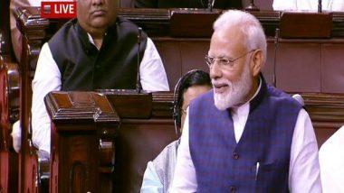 Winter Session of Parliament 2019: PM Narendra Modi Praise NCP, BJD During 250th Session of Rajya Sabha