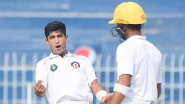 Australia vs Pakistan, 1st Test Match 2019: Naseem Shah Becomes Youngest to Make Test Debut at The Gabba