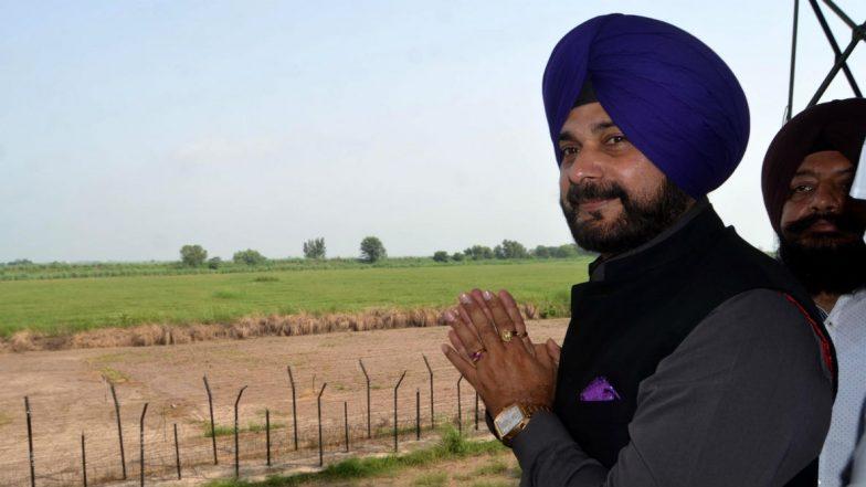 Kartarpur Corridor: Navjot Singh Sidhu Gets Political Clearance From MEA to Visit Pakistan