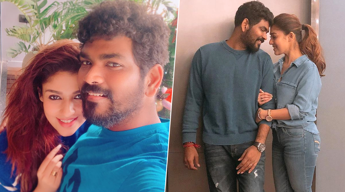Nayanthara Birthday Special: These Pics of Lady Superstar with Beau Vignesh Shivan Will Make You Say, 'Made For Each Other'