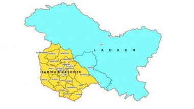 New Political Map Of India Shows Union Territories Of Jammu And Kashmir and Ladakh; View Pics