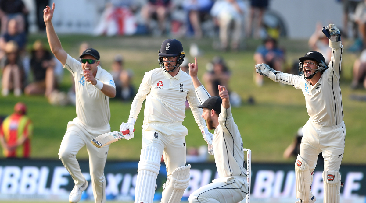 New Zealand vs England, 1st Test Match 2019, Day 5 Live Streaming on Hotstar: How to Watch Free Live Telecast of NZ vs ENG on TV & Cricket Score Updates in India Online