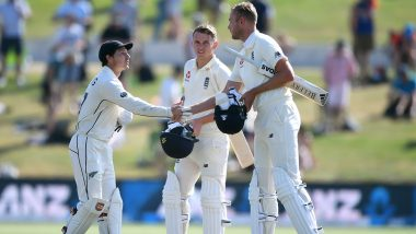 New Zealand vs England Test Series 2019 Is Not Part of ICC Test Championships 2019–21 and Here's the Reason