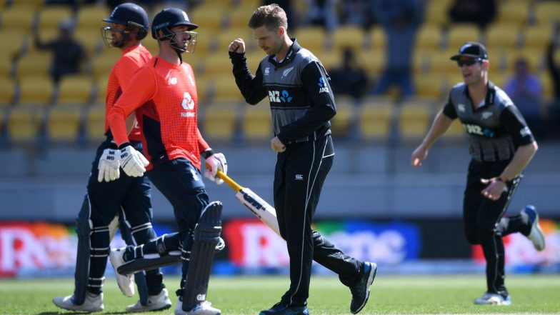 Live Cricket Streaming of New Zealand vs England, 4th T20I 2019 on Sky Sports Cricket & Hotstar: Check Live Cricket Score, Watch Free Telecast of NZ vs ENG on TV and Online