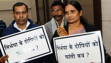Nirbhaya Ganrape and Murder Case: Victim's Parents File Plea Before Delhi's Patiala House Court Seeking Fast-Tracking of Rapists' Execution