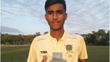 Meghalaya Spinner Nirdesh Baisoya Equals Anil Kumble's 10 Wickets in an Innings Record, Achieves Feat in U-16 Vijay Merchant Trophy