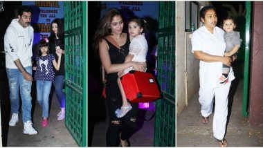 Aishwarya Rai Bachchan with Aaradhya and Mira Rajput with Misha, Zain among Others at Riteish Deshmukh's Son, Riaan's Birthday Bash (View Pics)