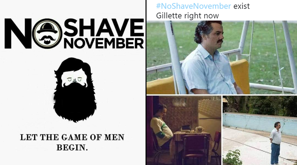 #NoShaveNovember Begins With Funny Memes and Jokes Being Shared Online As People Get Ready to Embrace Their Facial Hair