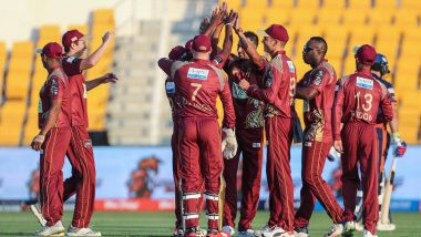 Abu Dhabi T10 League 2019 Live Streaming of Northern Warriors vs Qalandars on Sony Liv: How to Watch Free Live Telecast of NOR vs QAL on TV & Cricket Score Updates in India