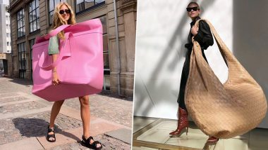 Oversized Bags the Next Big Thing! Elephantine Sized Totes to Be in Fashion Soon