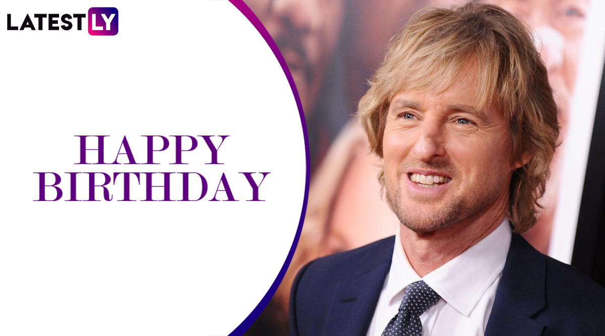 Owen Wilson Birthday Special: From an Emotional Marley & Me to the Hilarious Wedding Crashers, Check Out the Most Enjoyable Movies of the American Actor