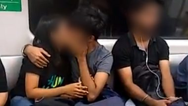 Viral Video of Delhi Metro PDA Moment Gets Mixed Reactions From Netizens on Twitter