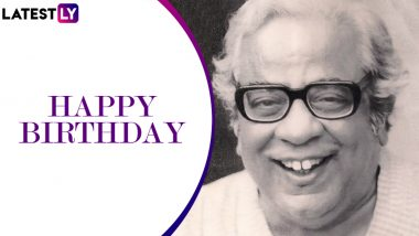 Pu La Deshpande Birth Centenary: Remembering the Legendary Marathi Writer, Humourist and Orator on His 100th Birth Anniversary (Watch Videos)