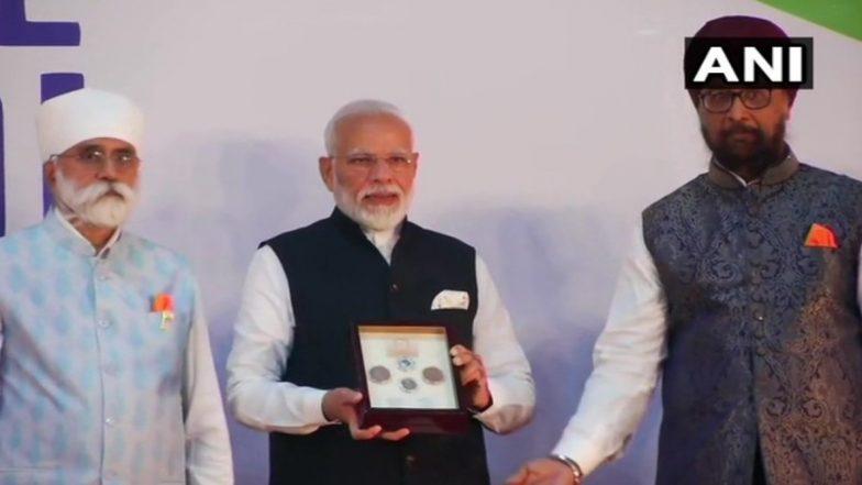 'Sawasdee PM Modi': Prime Minister Releases Commemorative Coin Honouring Guru Nanak Dev Ahead of His 550th Birth Anniversary