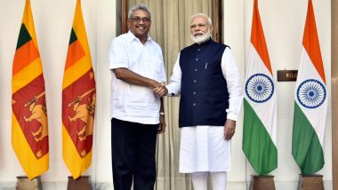 Sri Lanka to Release Indian Fishermen in its Custody, Says President Gotabaya Rajapaksa; PM Narendra Modi Extends USD 450 Million Line of Credit to Island Country