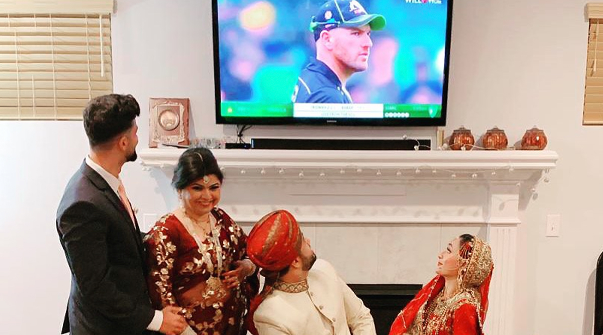 Couple Watches Pakistan vs Australia, 2nd T20I 2019, Aaron Finch Has Hilarious Response