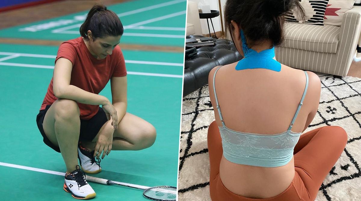 Parineeti Chopra Suffers From Neck Injury On The Sets of Saina Nehwal Biopic (View Pic)