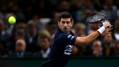 Novak Djokovic Beats Denis Shapovalov to Win Paris Masters, Inches Closer to No 1