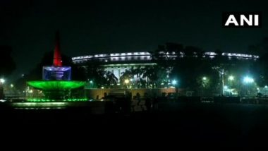 Parliament Building Lit Up in Celebration of Constitution Day 2019; View Pics