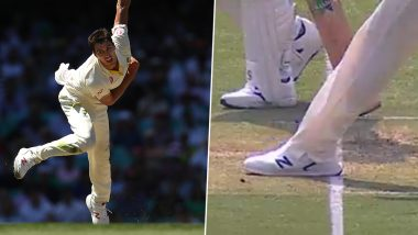 Pat Cummins' No-Ball Overlooked by Third-Umpire During 1st Australia vs Pakistan Test 2019, Cricket Fraternity Lash Out at the Glaring Error