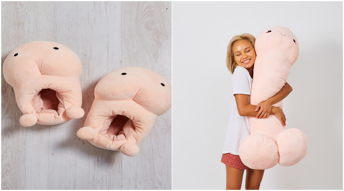 Penis-Shaped Slippers to Protect You From Winter! From Cushions to Earrings, Other Bizarre Phallic Shaped Products For Lover of D*cks