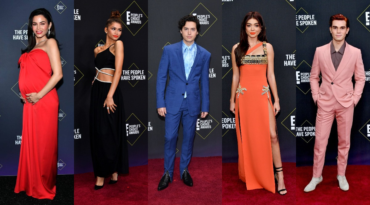 People's Choice Awards 2019 Red Carpet: Sarah Hyland, Zendaya, Cole Sprouse, KJ Apa Add Some Uber Panache To The 'Starry' Celebration!