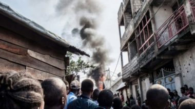 DR Congo: 29 Dead After Plane Crashes into Homes Goma