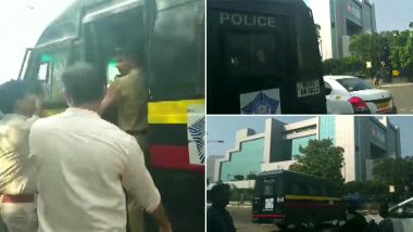 PMC Bank Scam: Mumbai Police Detains Several Depositors Protesting Outside RBI Office Near BKC