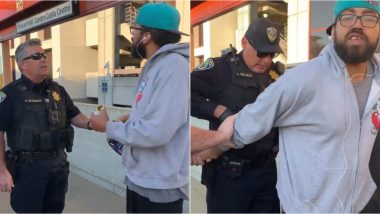 Man Arrested For Eating Sandwich on San Francisco Train Platform by California Police! Netizens Angered After Video of Him Handcuffed Goes Viral
