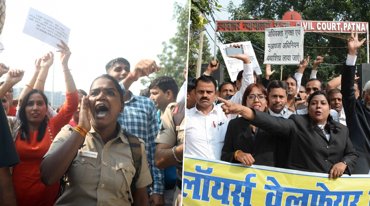 After Delhi, Police And Lawyers Clash Outside Alwar Court, Bar Council of India Demands Arrest of Officers