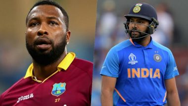 Unfriendship Day Begins on December 6! Kieron Pollard Unfollows Rohit Sharma on Twitter Ahead of India-West Indies Series