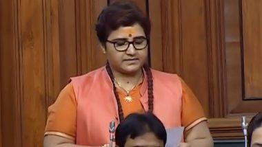 Congress MLA Govardhan Dangi Threatens to Burn Alive BJP MP Pragya Singh Thakur; Apologies