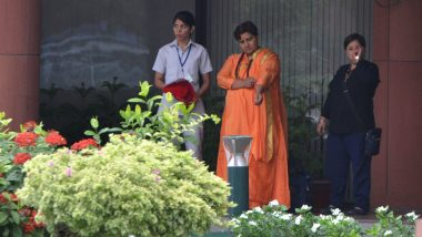 Pragya Singh Thakur Apologises Twice Over 'Godse Patriot' Remark, BJP MP's Microphone Muted After Second Apology