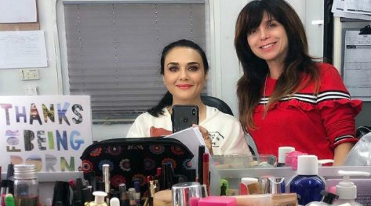 Preity Zinta Shooting for American Sitcom 'Fresh Off The Boat'