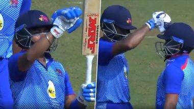 Prithvi Shaw Gets Trolled for 'Arrogant' Gesture Towards Crowd After Hitting Fifty in His Comeback Match During Syed Mushtaq Ali Trophy 2019–20 (Watch Video)