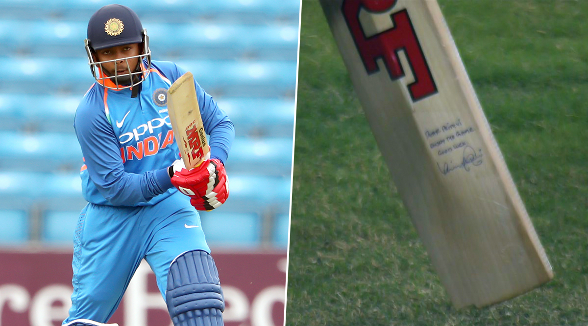 Prithvi Shaw Scores Half-Century With Virat Kohli's Autographed Bat During Punjab vs Mumbai Syed Mushtaq Ali Trophy 2019–20 Match, Twitterati Lauds Indian Skipper for Motivating Young Talent
